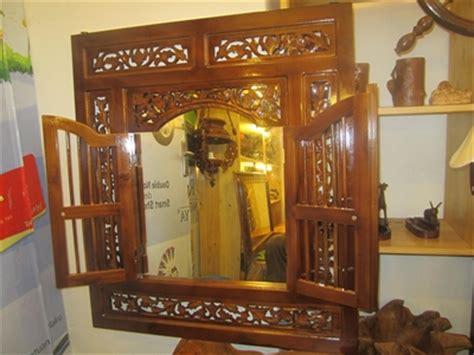 Cermin Jendela Jati cermin model jendela ukiran kayu jati belanja