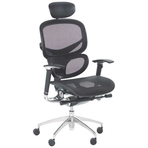 Chair Headrest by Optima Mesh Chair With Headrest Staples 174