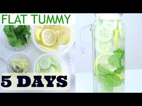 Diy Flat Stomach Detox Water by Diy Ayurvedic Detox Water Weight Loss Clear Skin Flat