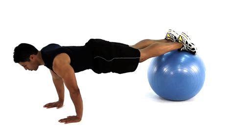 stability ball bench press best chest exercises to build a strong and powerful chest