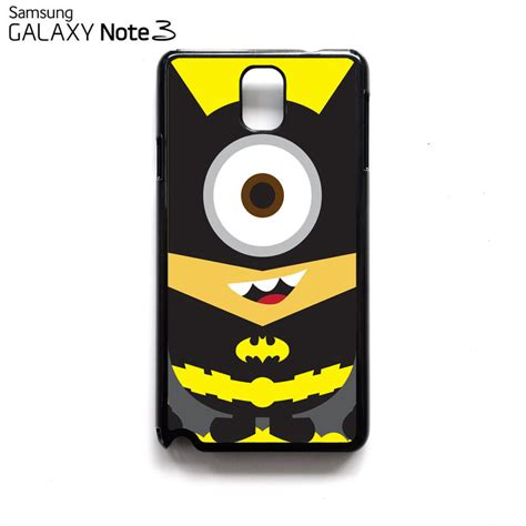 Casing Samsung Galaxy Note 3 Despicable Me Batman Minion Custom Hardca Despicable Me Minion Batman Avenger Samsung Galaxy Note 3