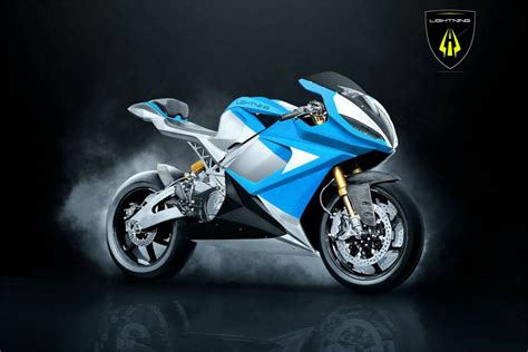 A Motorrad by Lightning Motorcycles Working On Electric Bike That Could