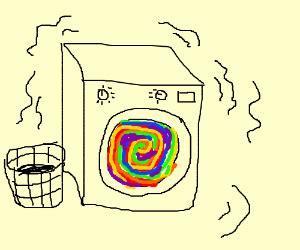 Hair Dryer Rainbow By Lvling hair dryer