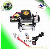 12v Electric Car Winch For Sale 12000lb  SC120 HC