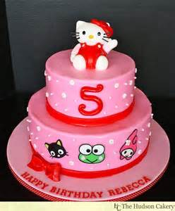 cartoon kitty birthday cake the hudson cakery