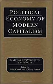 modern capitalist culture books political economy of modern capitalism mapping