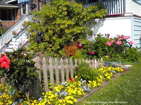 Decorate A Fence Front Porch Landscaping Ideas Front Yard Landscaping