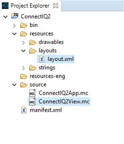 layout modification xml internet explorer paul s geek dad blog garmin connectiq first attempt at