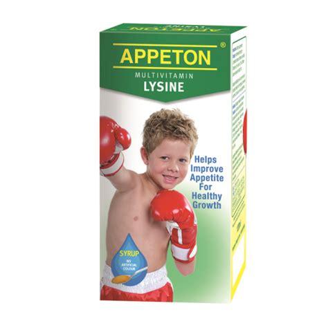 Appeton Child appeton multivitamin lysine syrup 120ml children