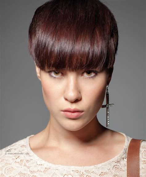 shory hair styles for thick hair with ear cut out 23 cute short hairstyles with bangs crazyforus