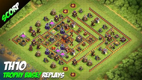 coc base 7th hd image dawnload search results for th10 clash of clans trophy base