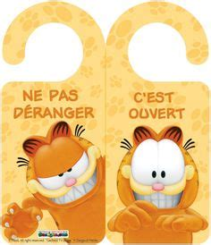 printable garfield bookmarks printable garfield bookmarks in french chats art