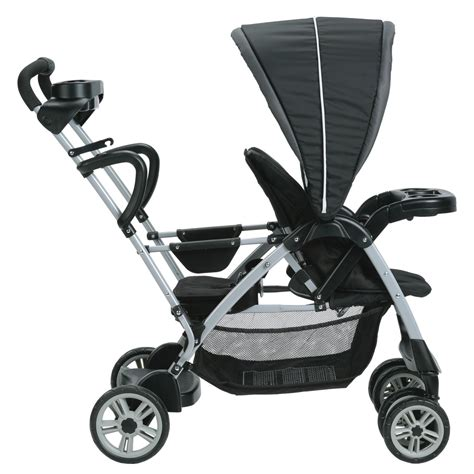 graco room for 2 stroller graco roomfor2 click connect stand and ride stroller gotham baby