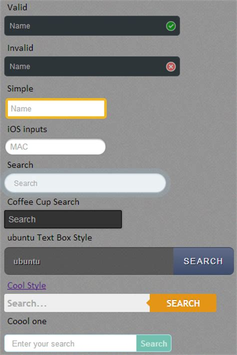 design html text cool textbox design in html5 jquery 2 dotnet