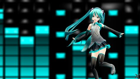 wallpapers 4k youtube mmd hatsune miku youtube banner 4k wallpaper by