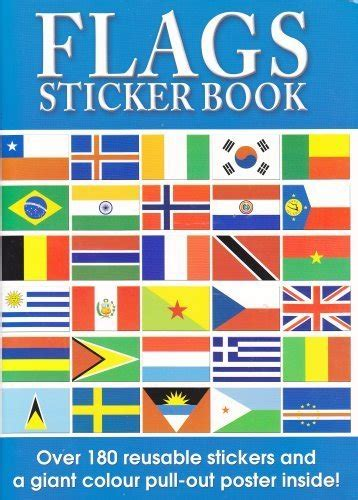 flags of the world book flags of the world sticker book and world poster ebay