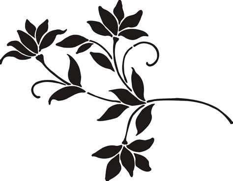 painting stencil small sweet magnolia walls stencils