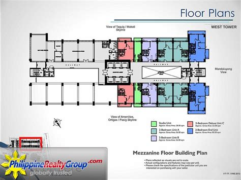 lumiere floor plan lumiere residences pasig metro manila philippine