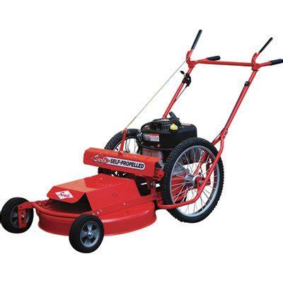 sarlo high wheel mower briggs stratton engine  deck model ss