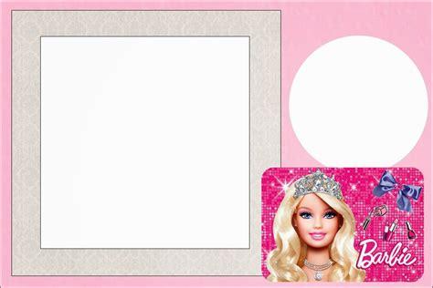 free printable barbie birthday decorations barbie life style free printable invitations oh my