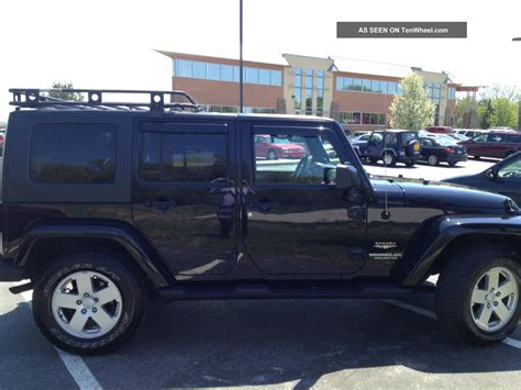 Wrangler Unlimited Roof Rack by 2007 Wrangler Unlimited Thou And In Upgrades