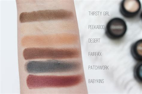 Hello Set Swatch colourpop cosmetics hello collection