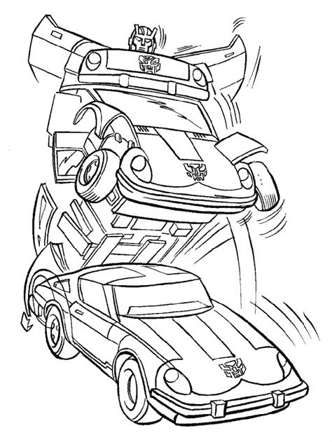 bumblebee transformer coloring pages az coloring pages