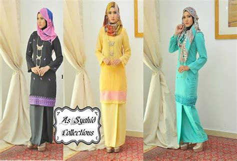 Baju Kurung Cotton Kuning the gallery for gt baju kurung moden