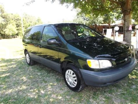 books on how cars work 2000 toyota sienna windshield wipe control purchase used 2000 toyota sienna ce one owner 76 000 miles no paintwork in middleburg florida