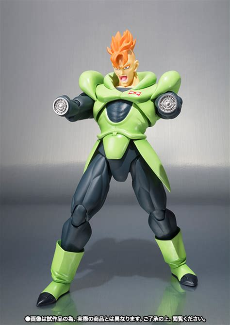 android h tamashii reveals android 16 sh figuarts the toyark news