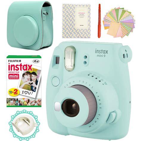 Fujifilm Kamera Instax Mini 9 Blue fujifilm instax mini 9 blue 20 photos