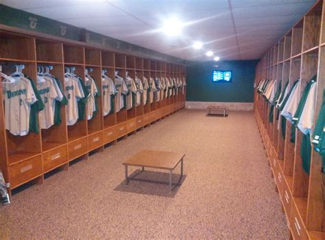 Baseball Locker Room by Tiffin Baseball Cs