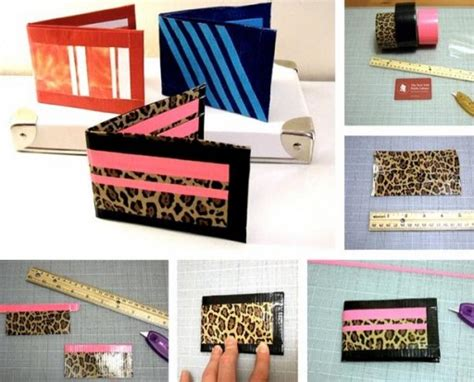 How Do You Make A Wallet Out Of Paper - how to make a wallet out of duct diy tag