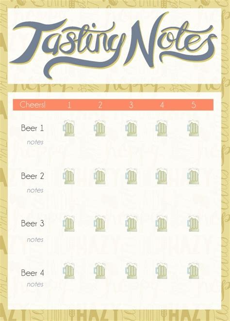 printable wine tasting note cards brews bites printables other party printables and