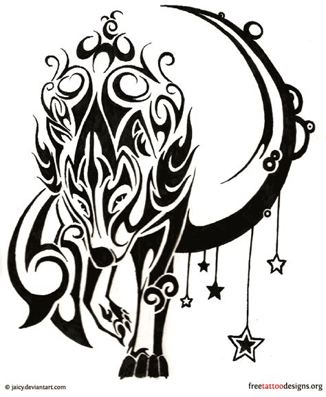 free wolf tattoo designs wolf tattoos