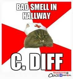 c diff smell and color a microbiology humor humor