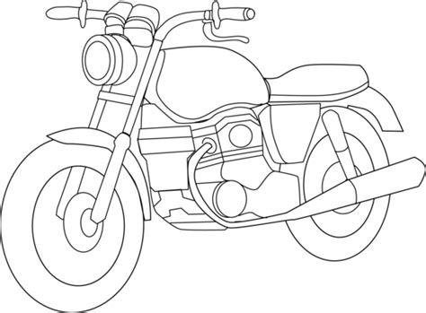 motorcycle coloring pages pdf motorcycle coloring page free clip art