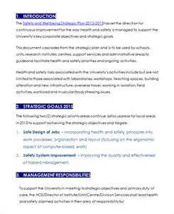 personal safety plan template plan template 110 free word excel pdf