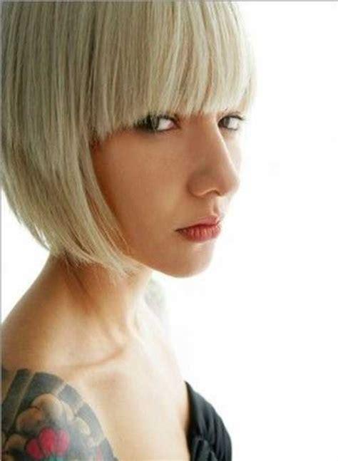 blonde bob hair with fringe 20 best bob hairstyles with fringe bob hairstyles 2017