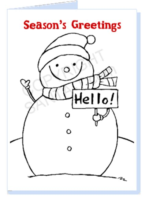 printable christmas cards you can color print and color your own christmas cards