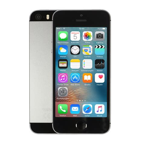 apple iphone se gb spacegrau bei notebooksbilligerde