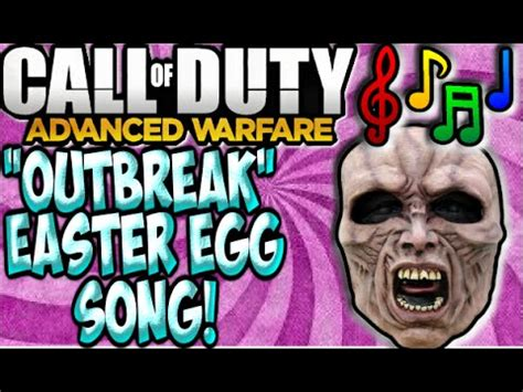 zombie outbreak tutorial call of duty advanced warfare exo zombies easter egg song