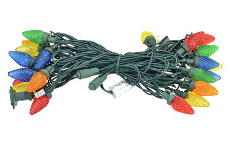 25 multi color rgb led c7 commercial outdoor string