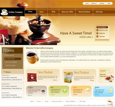Best Website Templates Custom Html Website Templates