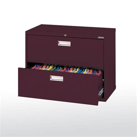 Sandusky 600 Series 36 In W 2 Drawer Lateral File Cabinet 36 Lateral File Cabinet