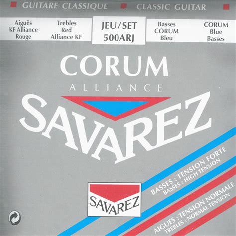 Savarez 500 Ar Corum Alliance Original savarez 500arj alliance corum blue muziker pt
