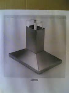 vent broan roof hoods nib broan kitchen island range vent fan hood  ebay