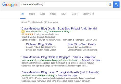 cara membuat blog halaman 5 tahap untuk bisa masuk ke halaman pertama di google