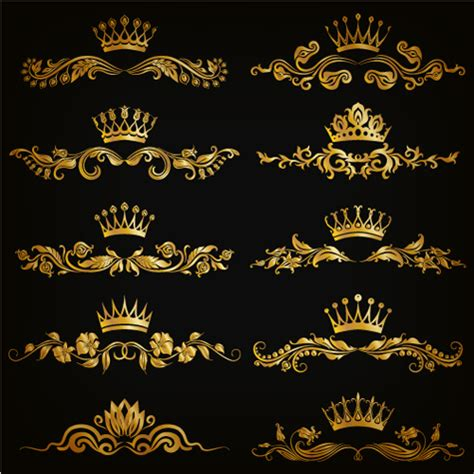luxury floral pattern background vector set 05 vector luxury floral ornaments golden vectors 01 welovesolo