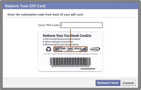 Redeem Gift Card Facebook - zynga support